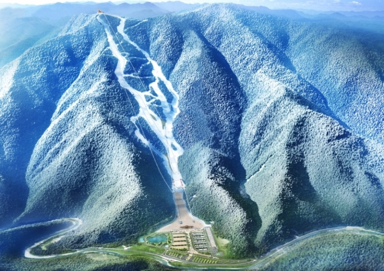 Design of Jeongseon Alpine Centre Image by The PyeongChang 2018 Official Website