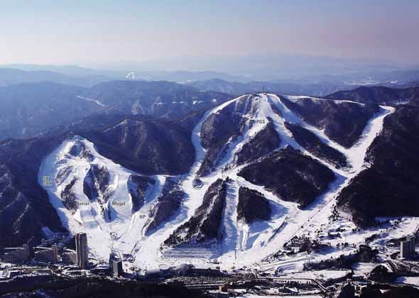 Bokwang Snow Park Image by The PyeongChang 2018 Official Website