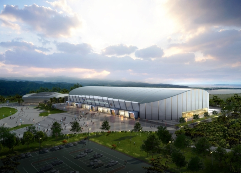 Design of Gyeongpo Oval Image by The PyeongChang 2018 Official Website