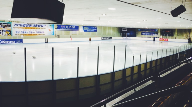 Inside of the Gangneung Curling Centre Image was taken on July 3rd, 2015 by Hyee Su Cho