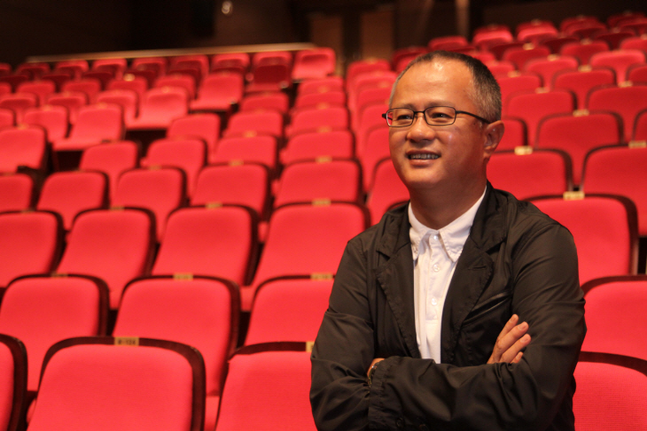 Newly appointed Executive Creative Director Song Seung-hwan Photo taken from PMC Production